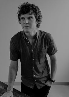 "vcnusfly: "" Evan Peters for TheWrap """