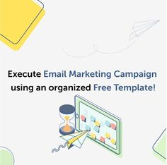 Employ our Email marketing campaign calendar to witness expansive growth! Now plan several email campaigns at once keeping track of all essential up to 2020 Email Marketing Campaign, Sales And Marketing, Content Marketing, Today Calendar, Business Emails, Email List, Mistakes, Infographic, Templates