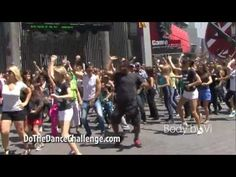 "World's Largest Simultaneous Flash Mob with Alfonso ""Carlton"" Ribiero"