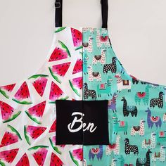 Want to match with your mini? We can make our kids aprons in adult size too! Just send me a dm Kids Apron, Our Kids, Aprons, Mini, How To Make, Collection, Instagram, Apron Designs, Apron
