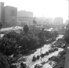 1940-1945 - Anhangabaú em obras.