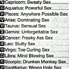 Aquarius and libra sexual astrology