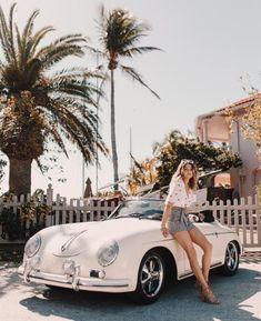 Porsche Cabrio and sun. Porsche Girl, Porsche Sports Car, Porsche Models, Porsche 911, Porsche Classic, Classic Cars, Vintage Porsche, Vintage Cars, Retro Vintage