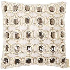 Biba Jewel cushion 30 x 30 found on Polyvore