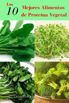 The 10 best vegetable protein foods - Ensalada Marisco Ideas Healthy Crockpot Recipes, Clean Recipes, Raw Food Recipes, Drink Recipes, Vegan Food, Chicken Recipes, Crispy Seaweed, Quick Easy Vegan, Vegetable Protein