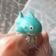 My Pet Shark - kitsch ring
