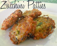 My family is OBSESSED with these Zucchini Patties! Kind of like a zucchini latke, they're great for using up garden zucchini and wonderful with marinara! @allrecipes