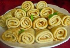 Pancakes on the boiling water Good Food, Yummy Food, Recipe 30, Kefir, Crepes, Food Photo, Apple Pie, Nutella, Zucchini