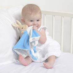 Peter Rabbit Comfort Blanket available from John Lewis and independent retailers