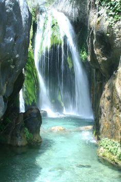 Preciosa foto de las Fuentes del Algar en Callosa de Ensarria #costablanca #inland