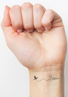 Believe Tattoo