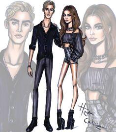 Presley Gerber & Kaia Gerber by Hayden Williams