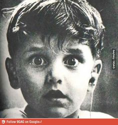 A deaf boy hearing sound for the 1st time...