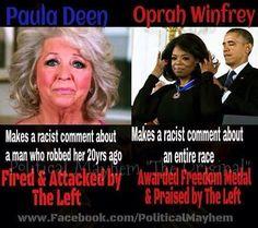 racist liberal left