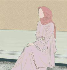 Hijabi Girl, Girl Hijab, Hijab Outfit, Hijab Dp, Muslim Hijab, Vector Character, Tmblr Girl, Portrait Vector, Hijab Drawing