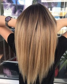 Are you going to balayage hair for the first time and know nothing about this technique? We've gathered everything you need to know about balayage, check! Brown Ombre Hair, Brown Blonde Hair, Ombre Hair Color, Dark Hair, Brunette Color, Light Hair, Balayage Hair Blonde, Blonde Highlights, Brown Balayage