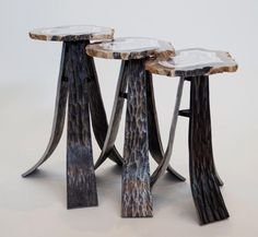 Agate Nesting Tables from our Aspen Collection