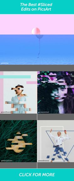 Check out the best sliced edits in the PicsArt community and create your own.