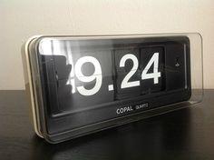 Copal Quartz Flip Clock - Model QG 870 - Vintage / 12-hour time | eBay ($200-500) - Svpply