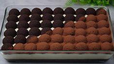 كيكة البابيلز🪀كيكة شوكولاتة عليها كرات كيك