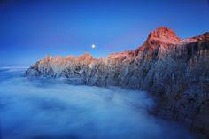 Mt. Triglav North Wall, Slovenia