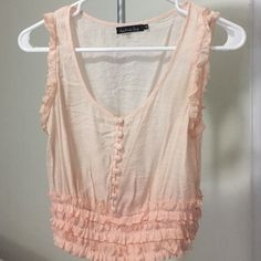 Soft pink blouse 😍 Like new... Worn once Tops Blouses