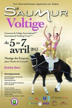 Le Concours De Voltige International De Saumur  2013