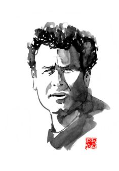 among the artists who disappear, lately we have lost Rutger Hauer and Johnny Clegg. Both were charismatic and will be missed. Here is my tribute to them Sumi E Painting, Celebrity Drawings, Art Tutorials, Buy Art, Paper Art, Saatchi Art, Rutger Hauer, Original Art, Sketches