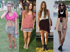 Estilo de Festival: Lollapalooza! - Fashion Frisson - Fashion Frisson
