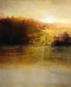 I am a fan of Joseph Turner's work (J.M.W. Turner) and this artist, Maurice Sapiro, equals Turner in his use of light and mists that draw you into his work. It's a new personal goal to one day own one of his incredible paintings.