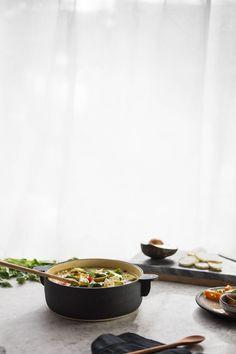 Creamy Vegetarian White Chili