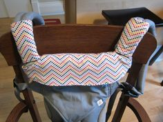 UPDATED!!! Measurements for the pattern now included. (June 3, 2015) My little drooler was making quite her mark on our new Ergo 360 carrier when facing outwards. It's a bit of a bummer that Ergo had decided to make the portion near the babies mouth beige because it gets dirty and stained pretty quickly. (Note issue below) So I decided to make an Ergo 360 drool guard for when she is facing outwards (along with the drool pads for the shoulder straps). Now I am not at all an expert seamstress…