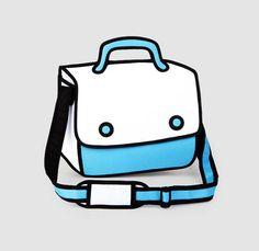 Tweedimensionale tassen www.obeymagazine.nl/ruimtelijk-ontwerp/product/tweedimensionale-tassen/#