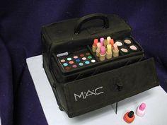 MAC Makeup Case Cake <3
