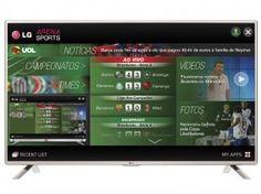 "Smart TV LED 32"" LG LF585B HDTV - Conversor Integrado 3 HDMI 3 USB Wi-Fi"