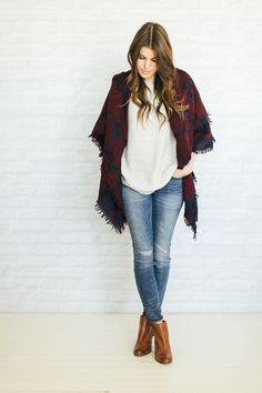 Unfancy Fall Wardrobe Capsule 2014 - 3 ways to wear a blanket scarf   aritzia takeover!