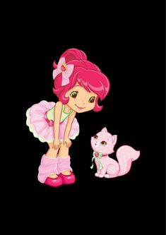 Strawberry Shortcake, Minnie Mouse, Disney Characters, Fictional Characters, Art, Art Background, Kunst, Performing Arts, Fantasy Characters