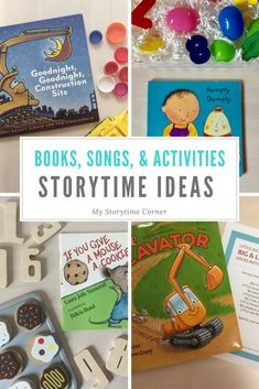 Best Story Time Ideas for Preschoolers Do you have daily story time with a classroom of kids? Do you run story time at your library? Do you just enjoy reading s Preschool Library, Library Activities, Kids Library, Elementary Library, Preschool Books, Preschool Classroom, Toddler Storytime, Toddler Books, Preschool Activities