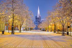 Aziz Nasuti Photography Beautiful Lights, Beautiful Images, Wedding Wows, Trondheim, Winter Scenes, Explore, Landscape, Architecture, Arquitetura