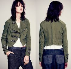 (3) Keep Us Together Tailored Marching Band Jacket - Free People 2013 December Womens Catalog Sneak Peek - 2013-2014 Fall Autumn Winter Coll...