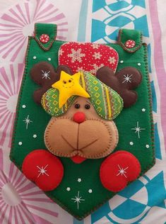 Blue Christmas, Christmas Crafts, Christmas Decorations, Christmas Ornaments, Holiday Decor, Diy And Crafts, Arts And Crafts, Felt Banner, Holiday Time