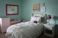 Image by Being Brook - Wall Color Benjamin Moore Robin's Egg