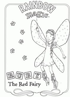 Rainbow Magic Coloring Pages Rainbow Magic Fairy Coloring Pages Cute Coloring Pages