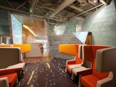 Koltsovo Airport VIP Lounge by Nefaresearch - News - Frameweb