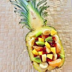 Pineapple fruit salad