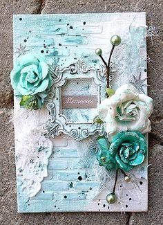 Memories - a mini canvas **Donna Salazar** - Scrapbook.com