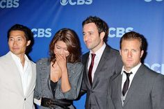 ♥♥♥ Cast of Hawaii Five-0 at CBS Upfronts - Daniel Dae Kim, Grace Park, Alex O'Loughlin and Scott Caan
