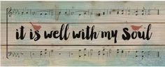 """It Is Well With My Soul"" Facebook Cover Photo"