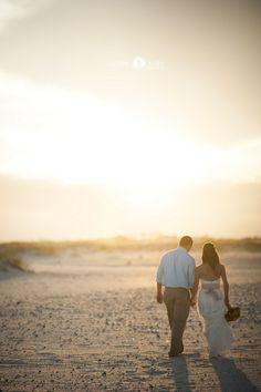 Beach Weddings  |  Sunset   |  Wedding Photos   |  Aislinn Kate Photography (Pensacola Destination Wedding Photographer)