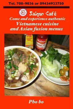 Saigon Cafe - Vietnam Comes To Bacolod ~ Life, Day by Day
